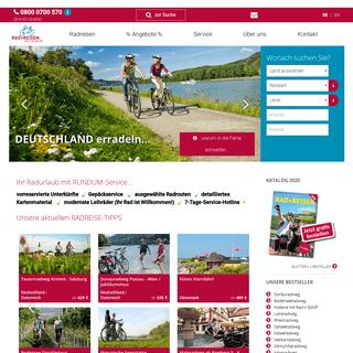 Radtouren online buchen - Fahrradreisen vom Spezialisten