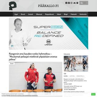 Pääkallo.fi – salibandy
