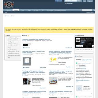 Garage4hackers Forum - Home