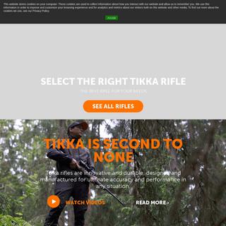 Tikka – Rifles, hunting rifles, tactical rifles, scopes, optics