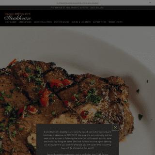 New Orleans' Most Award-Winning Steakhouse - Dickie Brennan's Steakhouse