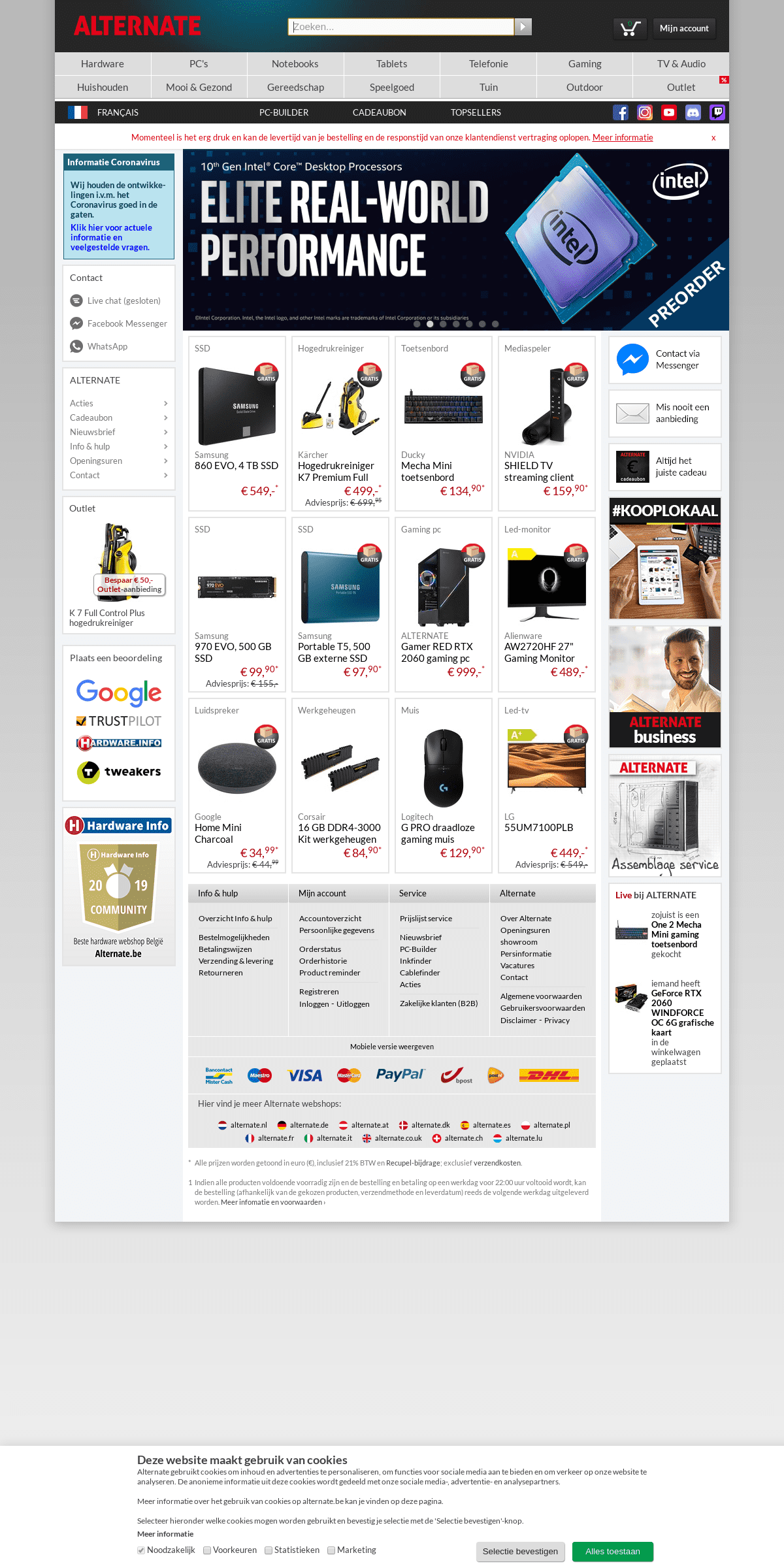 ALTERNATE - dé online computer en elektronica specialist!