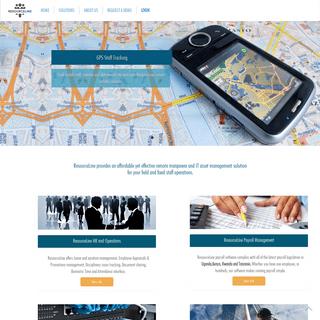 ResourceLine Online Manpower Management Solutions