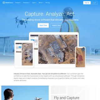 Drone & UAV Mapping Platform - DroneDeploy