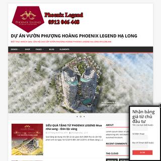 Dự án Vườn Phượng Hoàng Phoenix Legend Hạ Long – Biệt thự, khách sạn, căn hộ cao cấp Vườn Phượng
