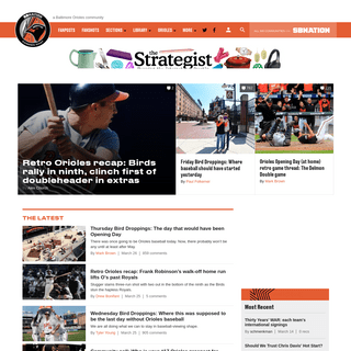 Camden Chat, a Baltimore Orioles community