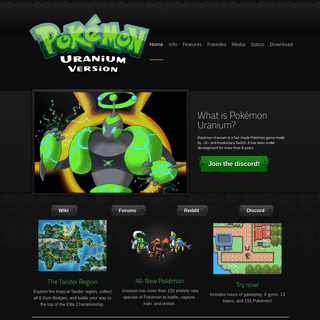 ArchiveBay.com - pokemonuranium.org - Pokemon Uranium - Home