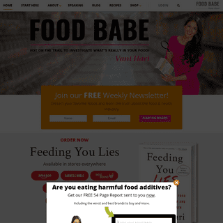 A complete backup of foodbabe.com