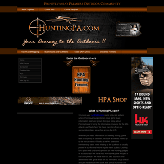 Hunting PA - Hunting Info, News and Premiere Outdoor Community for Pennsylvania, The Northeast and the Mid Atlantic