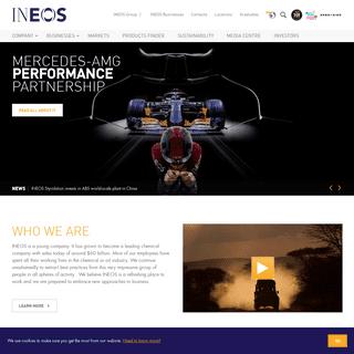 ArchiveBay.com - ineos.com - We are INEOS - A leading chemical company