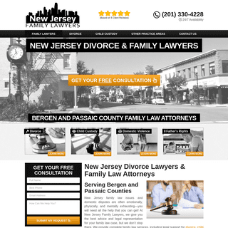 New Jersey Divorce Lawyers - Family Law Attorneys Near Me