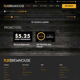Flix Brewhouse - Best Luxury Movie Theater - Fun For The Whole Family