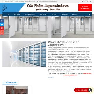 CÔNG TY NHÔM KÍNH JAPANWINDOWS