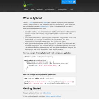 ArchiveBay.com - jython.org - Home - Jython