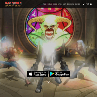 ArchiveBay.com - ironmaidenlegacy.com - Iron Maiden Game - Be Part of the Legacy