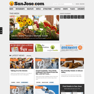 San Jose California - Hotels - Restaurants - Real Estate - Arts - Nightlife