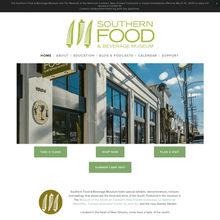 Southern Food & Beverage Foundation