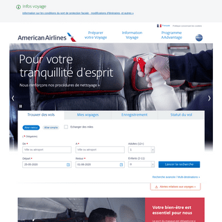 ArchiveBay.com - americanairlines.fr - Airline Tickets and Airline Reservations from American Airlines - aa.com