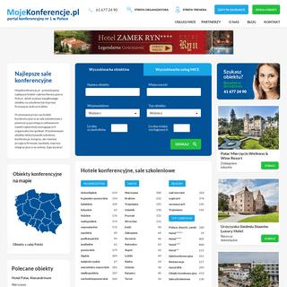 Sale konferencyjne, hotele konferencyjne, sale szkoleniowe - MojeKonferencje.pl