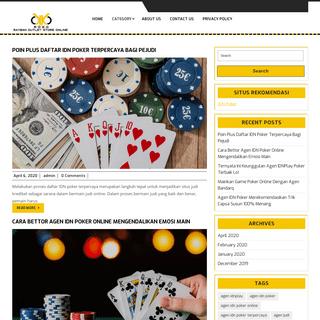 Kumpulan Situs Info Judi Online Terbaru Dan Terpercaya