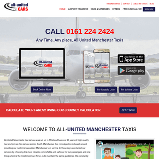All-United Cars Services- Hire Local Manchester Taxi Company