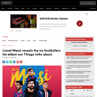 ArchiveBay.com - www.givemesport.com/1549398-lionel-messi-reveals-the-six-footballers-his-eldest-son-thiago-talks-about - Lionel Messi reveals the six footballers his eldest son Thiago talks about - GiveMeSport