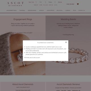 Ascot Diamonds – Engagement Rings Atlanta, DC, NY and Dallas