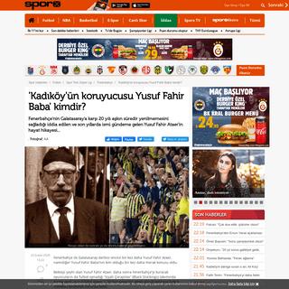 ArchiveBay.com - www.sporx.com/kadikoyun-koruyucusu-yusuf-fahir-baba-kimdir-SXHBQ833294SXQ - 'Kadıköy'ün koruyucusu Yusuf Fahir Baba' kimdir-