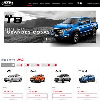 Sitio Oficial Jac Autos En Chile • JAC