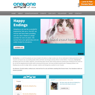 1by1 Cat Rescue - Cat Rescue & No-Kill Shelter1by1 Cat Rescue - Cat Rescue & No-Kill Shelter