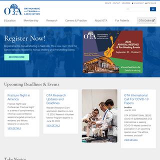 Orthopaedic Trauma Association (OTA)