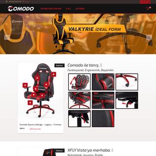 Oyuncu Koltuğu - Türkiye'nin en iyi oyuncu koltuğu - Comodo oyuncu koltuğu gaming chairs satış sitesi