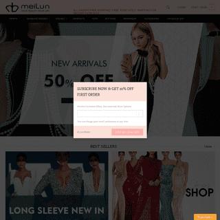 meilun – Bandage dresses wholesale,sexy bodycon dress Global online