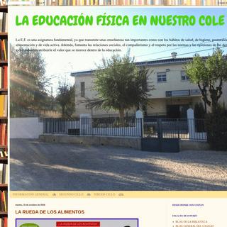 LA EDUCACIÓN FÍSICA EN NUESTRO COLE