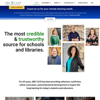 ABC-CLIO – History Reference Publisher