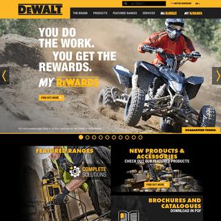 Homepage - DEWALT