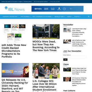 IBL News - Online Education At Scale- Must-Read News & Insights