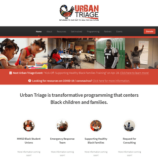 Urban Triage