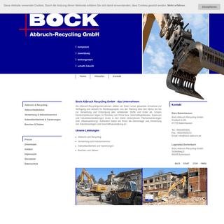 Bock Abbruch-Recycling GmbH - Abbruch und Recycling + Verwertung und Industrieservice + Asbestfachbetrieb und Sanierungen + Brec