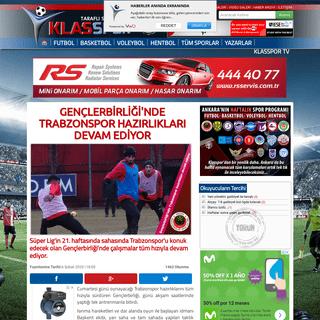 Gençlerbirliği'nde Trabzonspor hazırlıkları devam ediyor