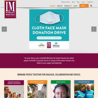Home - Interfaith Ministries for Greater Houston