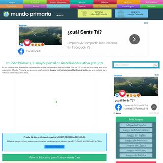 Mundo Primaria ® - El portal para aprender jugando