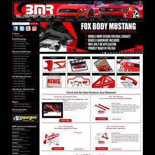 BMR Suspension - Performance Suspension & Chassis Parts