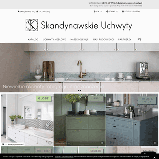 Uchwyty do mebli kuchennych i szafek - Skandynawskie Uchwyty