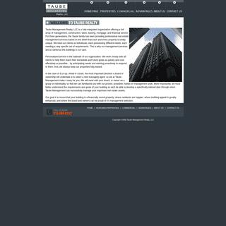 Taube Management Realty, LLC