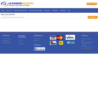 » LK Domain Registry