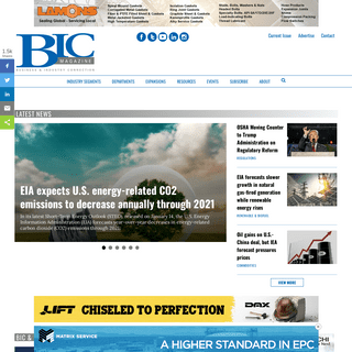 ArchiveBay.com - bicmagazine.com - Refining News, Petrochemical, Oil & Gas, Industrial Services, Downstream News, Construction - BIC Magazine