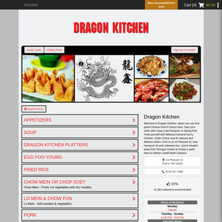 ArchiveBay.com - dragonkitchenchinese.com - Dragon Kitchen - Dracut, MA 01826 (Menu & Order Online)