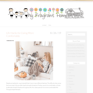 My Fragrant Home - DIY, family and home life