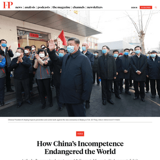 ArchiveBay.com - foreignpolicy.com/2020/02/15/coronavirus-xi-jinping-chinas-incompetence-endangered-the-world/ - How China's Coronavirus Incompetence Endangered the World